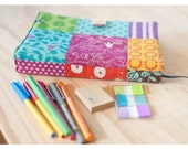 "A5/6x8"" Diary cover/notepad holder sewing pattern (PDF)"