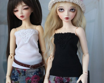 Minifee Fancy Camisole, 3 Colors to Choose, MNF Shirt 1/4 Size Doll Clothes, Cami Tube Top