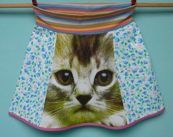 kitten skirt handmade by koosidesign, size 3-5 Copy