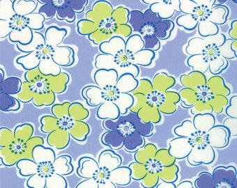 Giggles Purple Floral Fabric - Moda - Me and My Sister - 22202 12