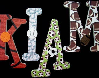 Items Similar To Wall Letters Custom Wooden Dallas