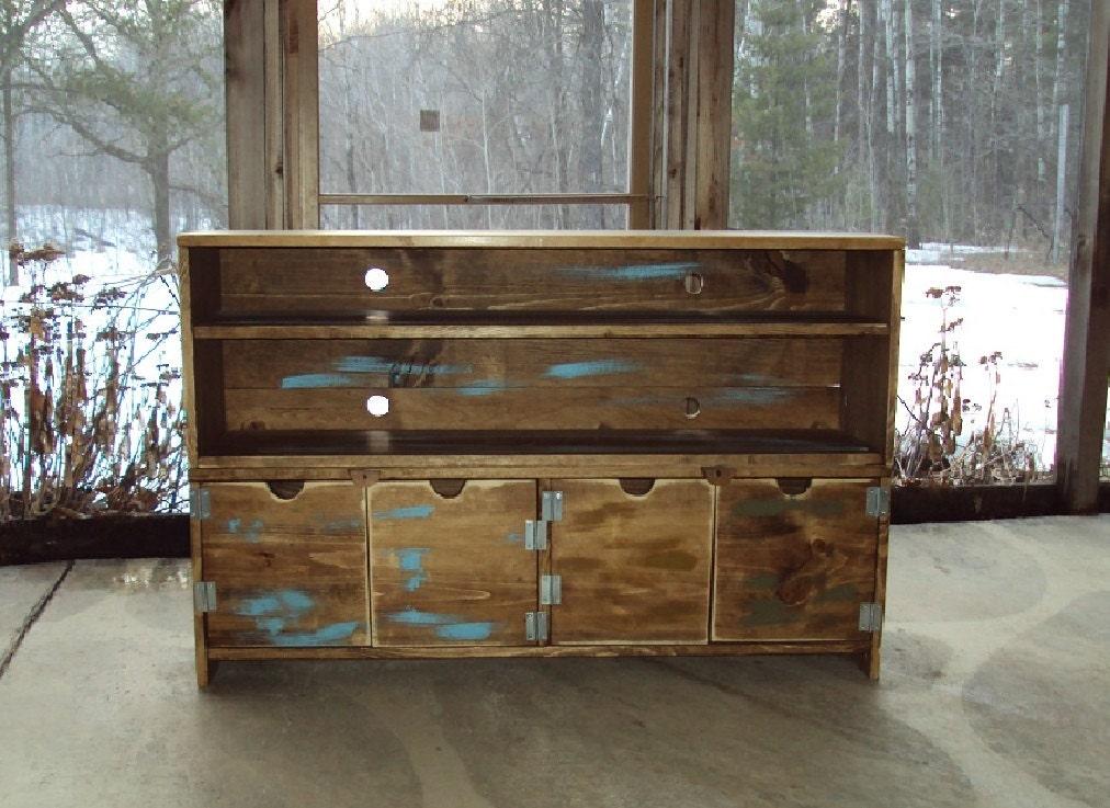 Reclaimed Wood Look Furniture 48 Wide 30 Tall Media
