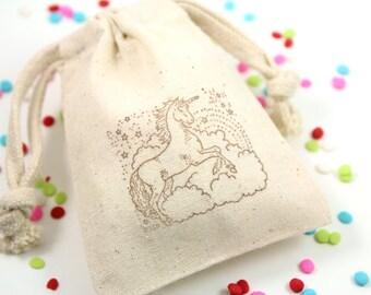Unicorn Favor Bags - Set of 10