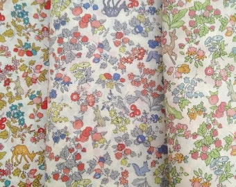 liberty of london - nancy ann + animals - special limited edition print - fat quarter