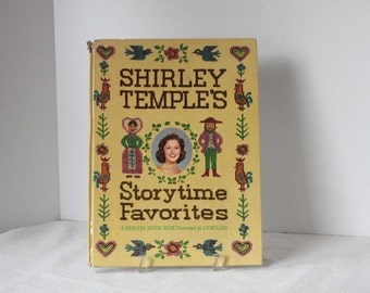 Shirley temple's Storytime Favorites Hardcover  Picturebook 1962