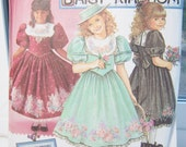 SALE Simplicity 8314 Girl's Sewing Pattern, Daisy Kingdom Full Skirt Dress, Special Occasion Party, Flower Girl Dress Pattern Size 12 - 14