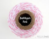 SALE - Bubble Gum Pink Bakers Twine by Timeless Twine