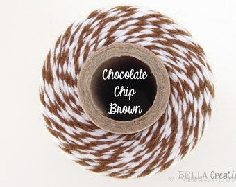 SALE - Chocolate Chip Brown Bakers Twine by Timeless Twine