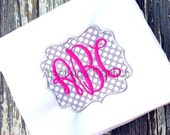 Machine Embroidery Design Applique Hayes Frame INSTANT DOWNLOAD