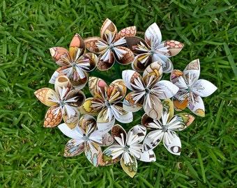 Strega Nona Book Paper Flowers (10 Small Size)