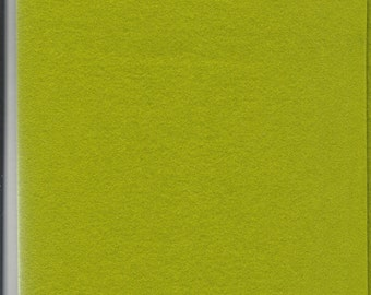 Pure Wool Felt Sheet - Spring Green - Half Metre / Quarter Metre - EN71