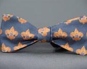 Boy Scouts on Blue  Bow Tie