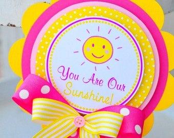 You are my Sunshine Cake Topper, Smash Cake Topper, You are my Sunshine Birthday Party