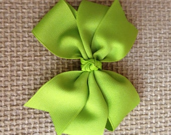 """Beautiful Large 5"""" Pinwheel Boutique Hair Bow to match Dress Orders"""