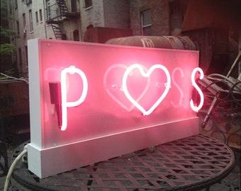 Wedding / Valentine's Day Custom Neon