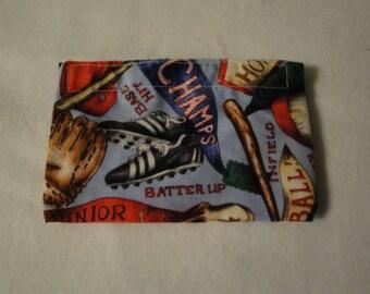 Eco-Friendly Reusable Baseball Champs Snack Bag