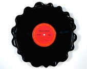 SALE Santana Vinyl Record Tray / Platter Vintage LP Album 1970 (Abraxas) Red Label