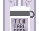Tea Earl Grey Hot - Star Trek Inspired Illustration