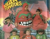 Attack of the Killer Tomatoes Halloween Children Costume Sewing Pattern Simplicity 7527  Child and Size Small, Medium, Large