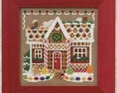 MILL HILL KIT - Buttons & Beads Winter Series - Gingerbread House MH14-0306 Christmas Counted Cross Stitch Kit
