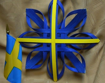 Star of Sweden - Hand Woven Nordic Star