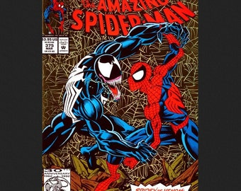 Issue 375 the Amazing Spider-Man Comic Book March 1993