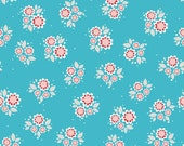 Twice as Nice Spice Petals in Blueby Riley Blake - 1 Yard