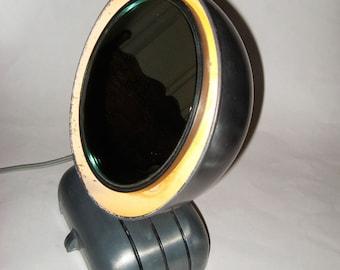 1920s Deco Machine Age Illuminated Make-up Mirror MIROLITE Cool Industrial Design