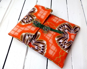 Kindle sleeve, African wax print