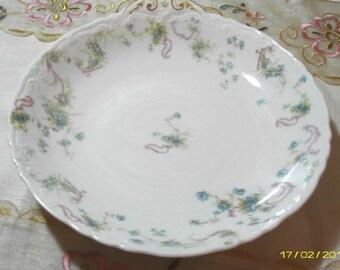 Cottage Charm - Vintage Porcelain Serving Dish - Vegetable Dish - Limoges - Haviland France - Ornate - 1950 Era