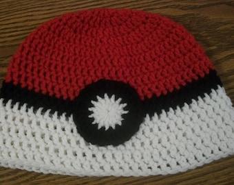 Pokeball Hat