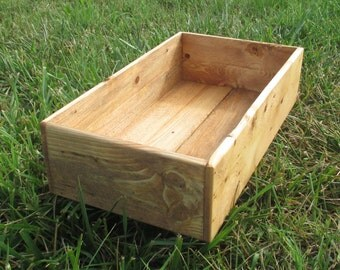 Rustic Box - Reclaimed wood - Storage Boxes - Home Decor