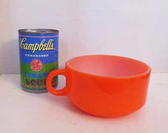 Glasbake Tomato Red Soup Mug