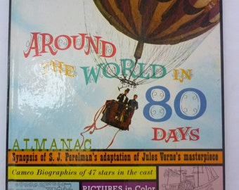 Around the World in 80 Days Almanac, 1956 Movie Souvenir Book