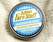 Seasoned Greetings - A Perfect Winter Moustache Wax - LIMITED EDITION SCENT