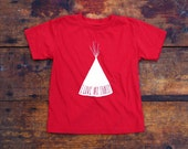 LITTLE TRIBE TEE (Red)