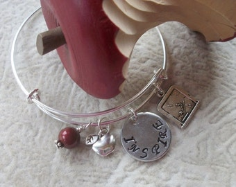 Inspire - Thank A Teacher - Adjustable Bangle - Teacher Gift - Expressions - Jewelry With A Statement