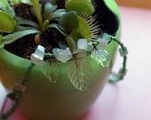 OOAK Handmade Fairy Leaf Necklace