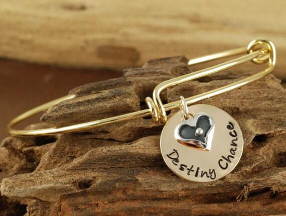 Personalized Bangle Name Bracelet, Mommy Jewelry, Gold Bangle Charm Bracelet, Name Bracelet