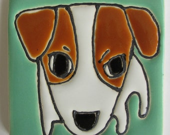 2.5 Square Jack Russell Terrier
