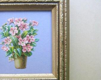 English Garden Plant Garden Gift Primrose Die Cut Victorian Rustic Vintage Garden Decor