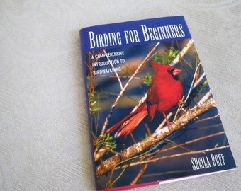"Vintage Book ""Birding for Beginners"" 1993"