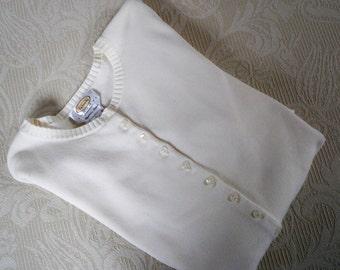 Vintage Clothing Women's Sweater Cardigan Hong Kong Talbot's Summer Cotton