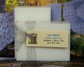 EAZY BREEZY Goat Milk Soap - Fresh Linen & Air Scented Soap - Homemade Bath Soap