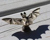 Bat drawer knobs - furniture knobs - Cabinet Knobs in Brass (MK120)