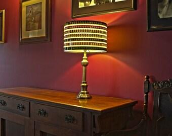 Vintage Movie Reel Film Lamp Shade