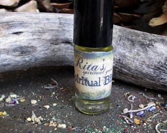 Rita's Spiritual Bliss Hand Brewed Ritual Oil - Higher Consciousness, Luv, Positive Energy, Healing
