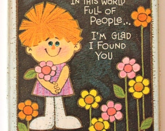 In this World Full of People ... I'm Glad I Found You by Jean Kyler McManus