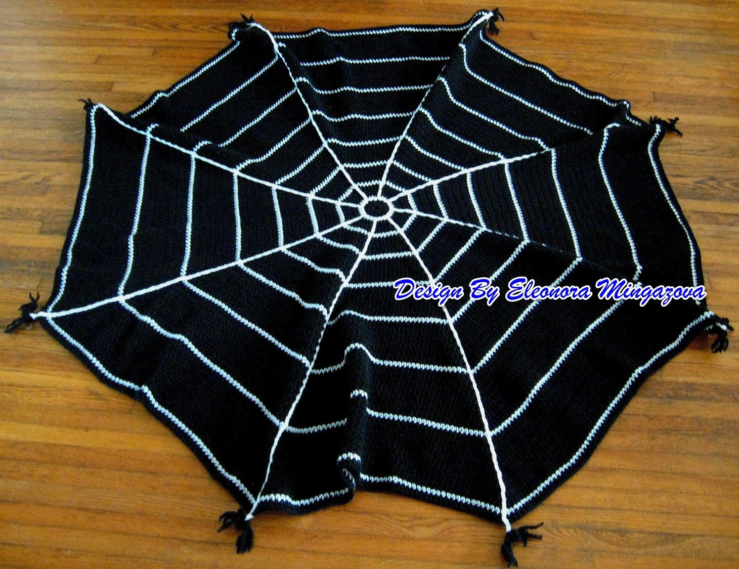 Pdf crochet pattern to make your own halloween spider web crochet craftybarn bankloansurffo Images