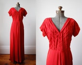 1940's Frank Starr Dance Dress